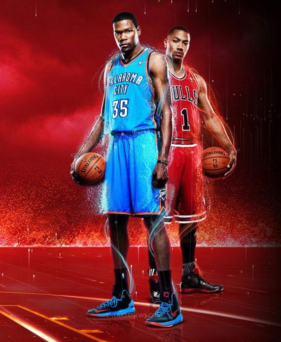 Kevin Durant In Nike Zoom KD V NBA 2K13 Promo