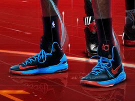 Nike Zoom KD V quot Thunder Awayquot Release Date