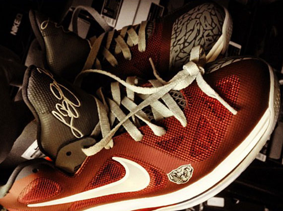 8968d9d47 new Nike LeBron 9 Low quotAlabamaquot Customs By Mache - s132716079 ...