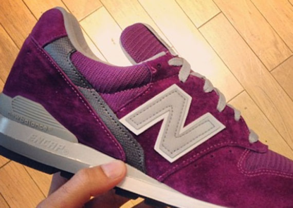 new concept 74f3f 4e5c4 New Balance 996 - Purple - SneakerNews.com