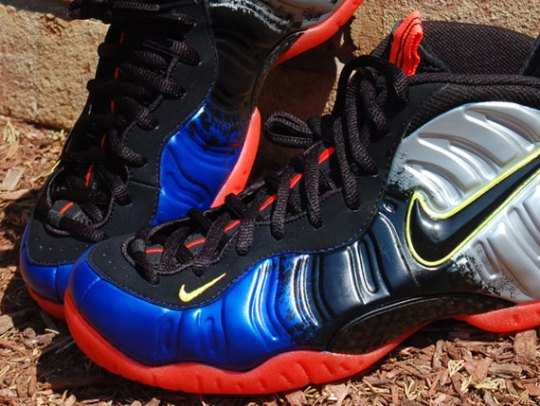 "Nike Air Foamposite Pro ""Nerf"" Customs by Chef"