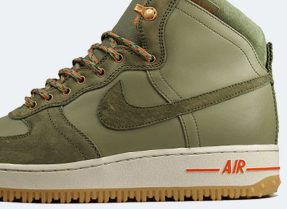 Nike Air Force 1 Hi Dcn Military Boot Silver Sage Medium Olive Sneakernews Com