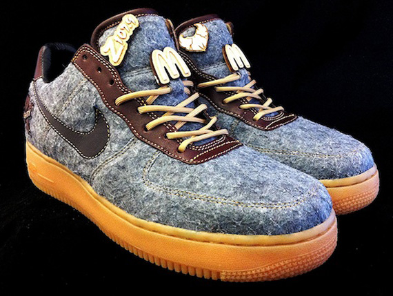 Nike Air Force 1 Quot Eighty81 Letterman Quot Customs By Pmk
