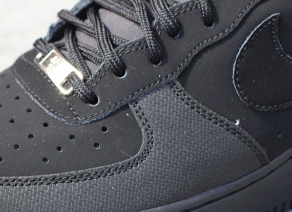 Nike Air Force 1 Low - Black Nubuck - SneakerNews.com