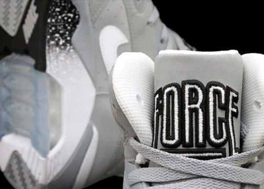 Nike Air Force 180 Mid – Wolf Grey – White – Black