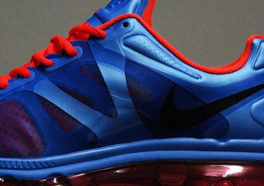 Nike WMNS Air Max+ 2012 – University Blue – Bright Crimson