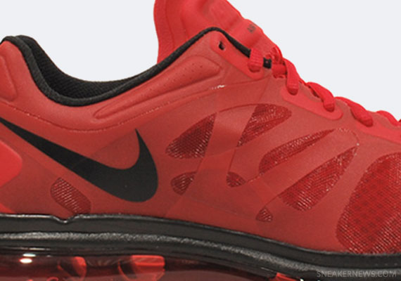 nike air max 2012 all red
