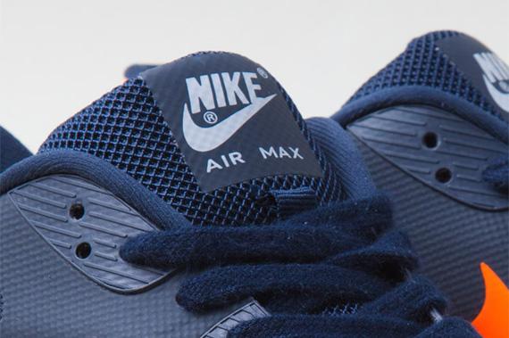 Nike Air Max 90 EM Navy Blue Grey Orange