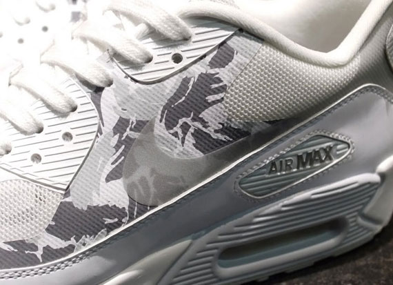 usatf x nike air max 90 hyperfuse reflective camo