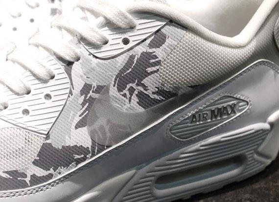 Nike Air Max 90 EM Camo White Black