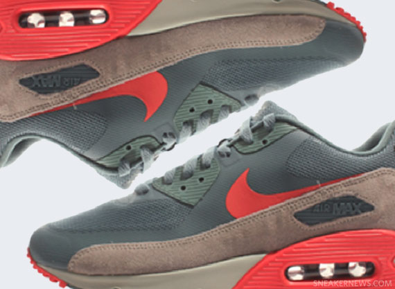 Air Max 90 Premium Hasta Nike 532470 360 hasta