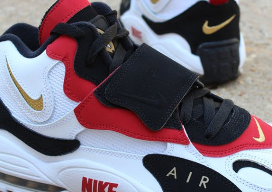 "948363d295 Nike Air Max Speed Turf ""49ers"" – Available"