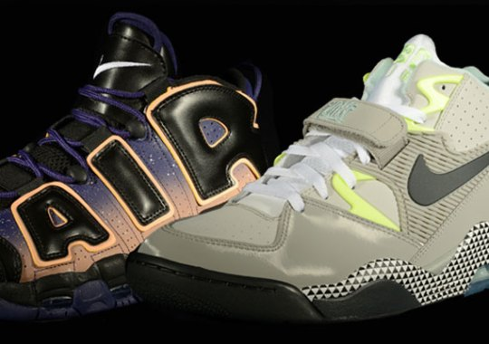 """Nike Air More Uptempo + Air Force 180 """"Dawn to Dusk"""" Pack"""