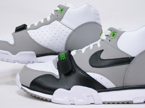 """lowest price 76022 f8e11 Nike Air Trainer 1 Mid Premium """"Chlorophyll"""" – Release Date"""