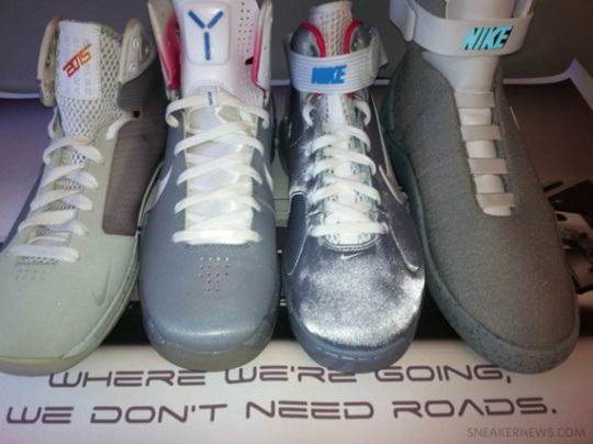 """Nike """"Back To The Future"""" Collection by Ross"""