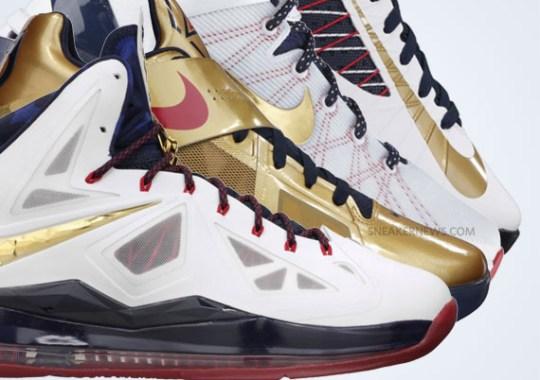 """Nike Basketball """"Gold Medal"""" Pack – Release Reminder"""