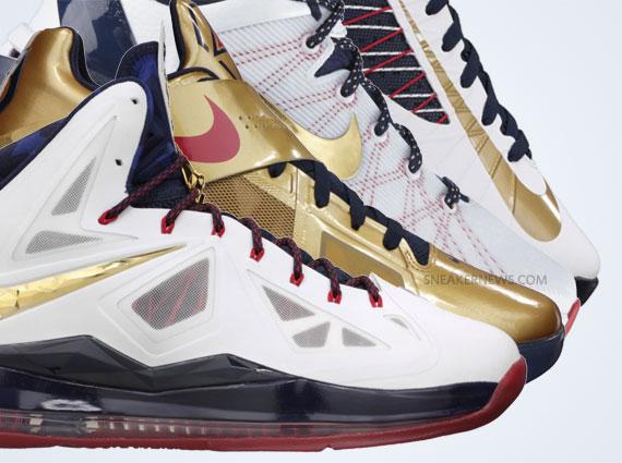 """brand new fedc4 4efa1 Nike Basketball """"Gold Medal"""" Pack – Release Reminder"""