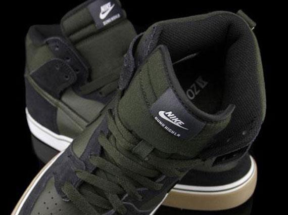 reputable site 3021c 900de Nike Dunk High LR – Black – Sequoia – Gum
