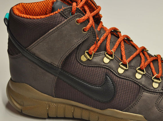 outlet store 24242 51f26 ... promo code for nike dunk high free winterized oms sneakernews 9897f  188d2