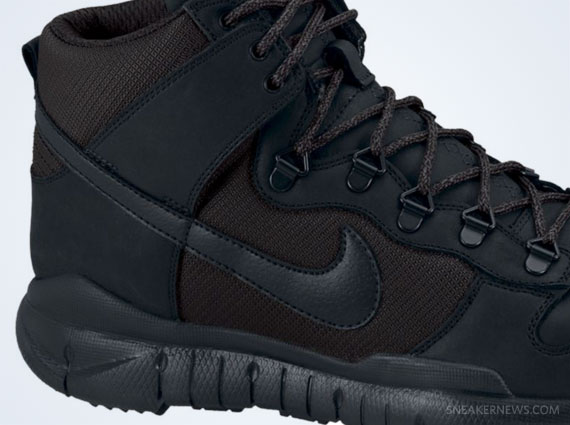 nike dunks boots