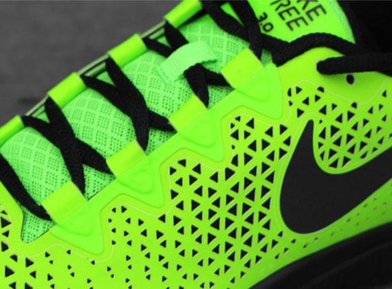 Nike Free 3.0 Paradis Vert Électrique