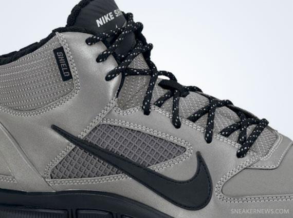 free shipping 1ab58 c6eb9 Nike Free Trainer 7.0 Shield – Reflective Silver – Black