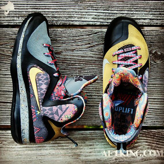 "Nike LeBron 9 ""Invictus"" Customs By GourmetKickz ..."