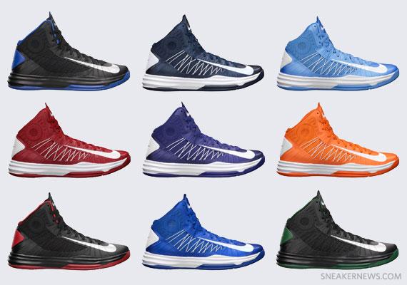 new concept 29d9f 06d56 Nike Lunar Hyperdunk+ TB Colorways - Available - SneakerNews.com