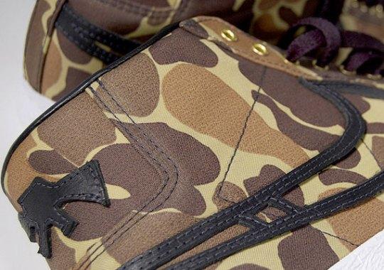 """Nike SB Blazer """"Camo"""" Customs by JBF"""