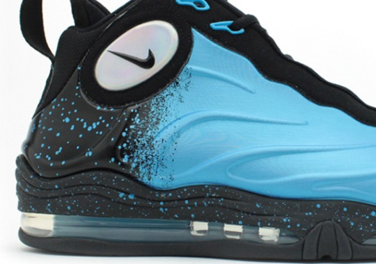 new styles cfa72 bc50e Nike Total Air Foamposite Max – Current Blue – Black