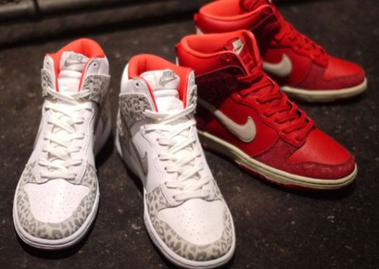 "Nike WMNS Dunk High Skinny ""Leopard Pack"""