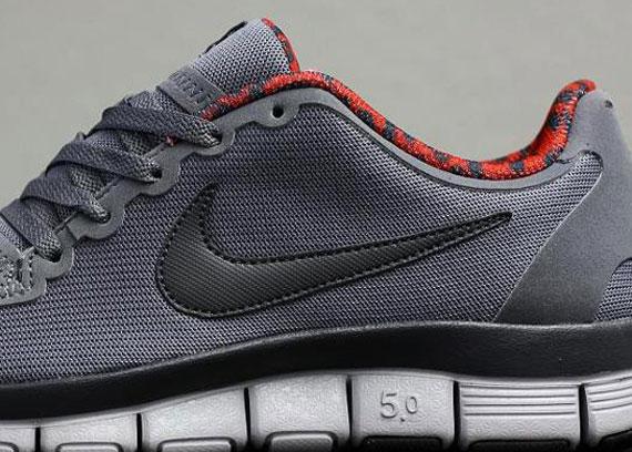 Nike Free 5.0 V4 Black Red
