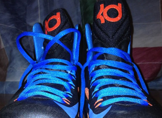 Nike Zoom KD 5 White Blue Orange
