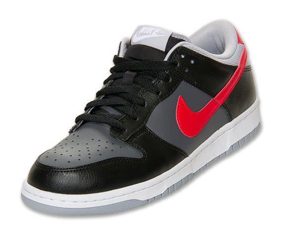 cheap for discount aeef7 2771d Nike Dunk Low - Black - Grey - Red - SneakerNews.com