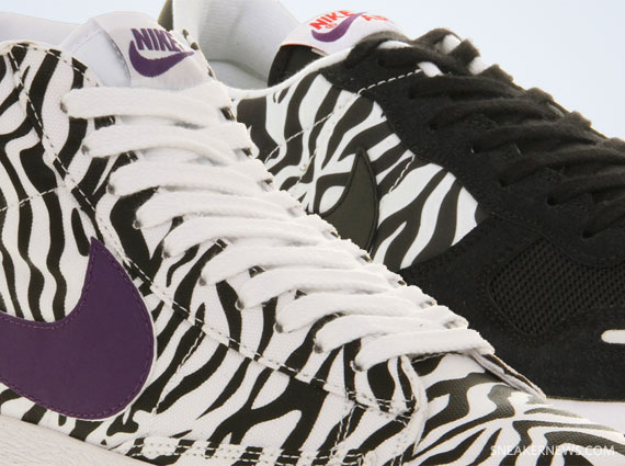 56b8e1279667 Nike Sportswear has been a strong proponent of animal print sneakers ...