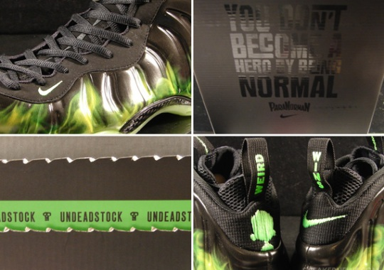 "Nike Air Foamposite One ""ParaNorman"" – Available on eBay"