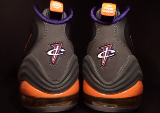 "brand new b9ab9 336e1 Nike Air Penny V ""Phoenix Suns"" – Available Early on eBay"