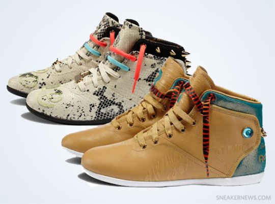 Reebok Classics BEAT Collabs – Fall 2012 Collection