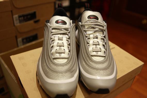 Nike Air Max 97 Hyperfuse Nrg Metallic Silver