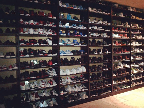 Stephen Jackson's Air Jordan Collection