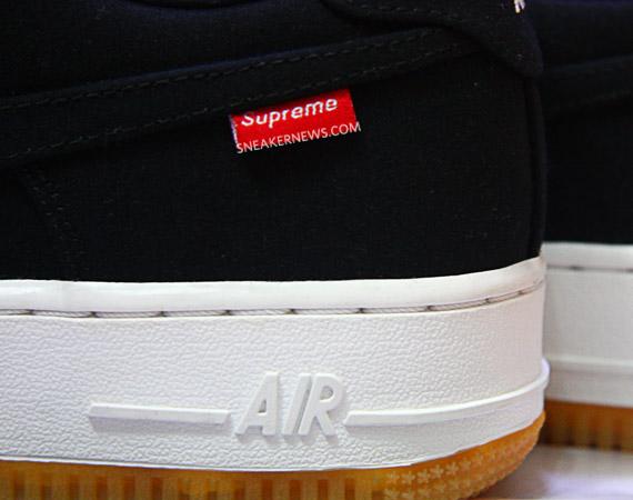 Supreme x Nike Air Force 1 Teaser