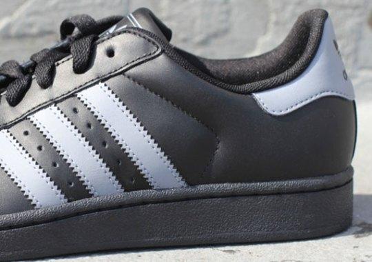adidas Originals Superstar II – Black – Grey