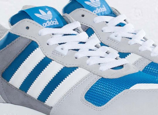 adidas Originals ZX 700 – Pool – White – Clear Grey