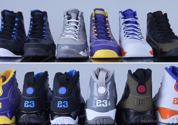 quality design 70d9d 85d08 air jordan retro 9 black and blue