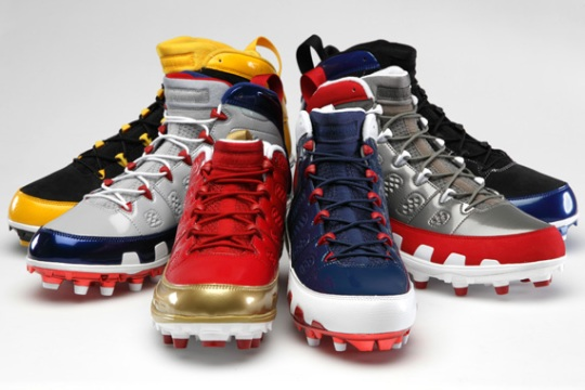 Air Jordan IX NFL PE Cleats