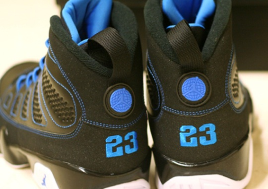 "Air Jordan IX ""Photo Blue"" – Available Early on eBay"