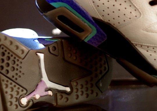 "Air Jordan VI ""Seinfeld"" Customs by Rocket Boy Nift"