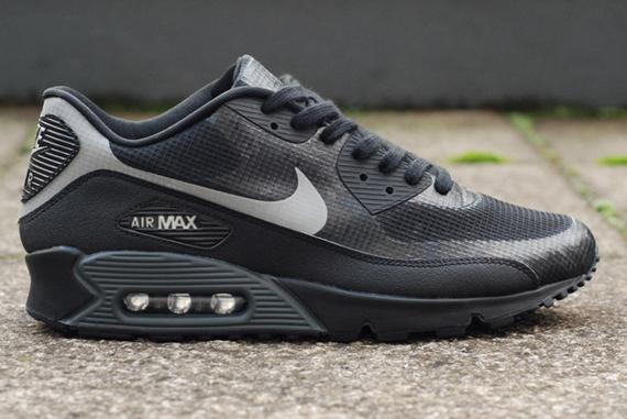 Nike Air Max 90 Hyperfuse - Black - Grey - Reflective ...