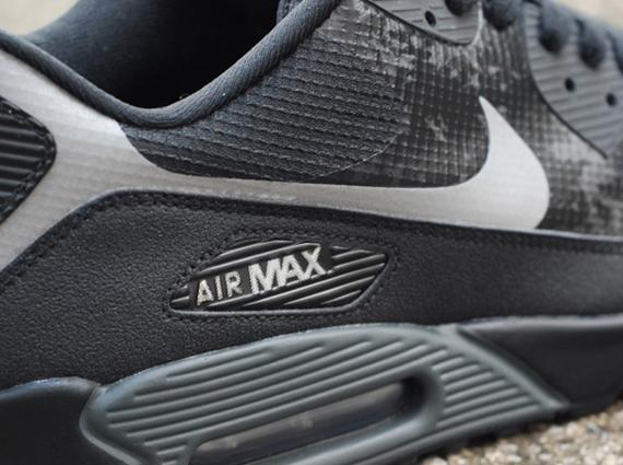 Nike Air Max 90 Hyperfuse Black Grey Reflective