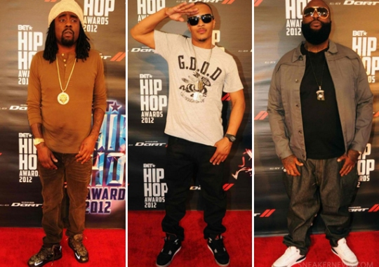 Celebrity Feet @ 2012 BET Hip Hop Awards
